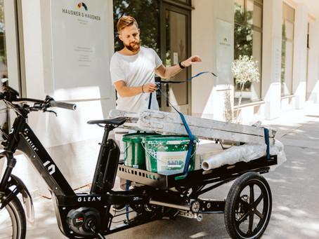 Summer in the City. Cargobikes testen an der Cycle Week!