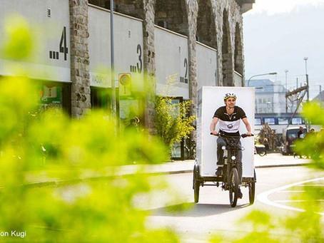 Nicht neu, aber gut zu wissen: Schweizer Förderung für eCargobikes (und Trikes)