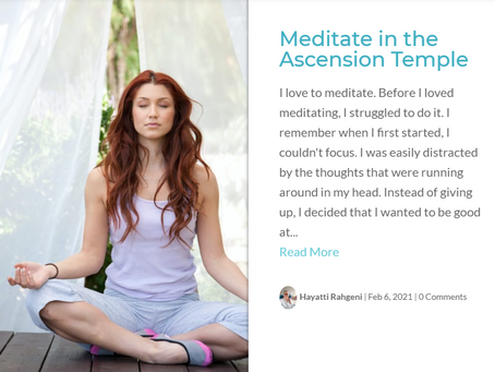 AI Blog Post: Meditate in the Ascension Temple