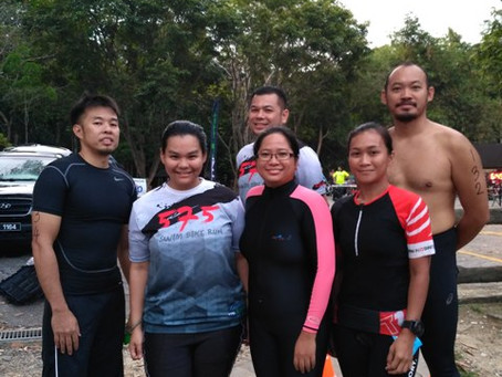 Effortless Swim Students at TriUltra 57.5