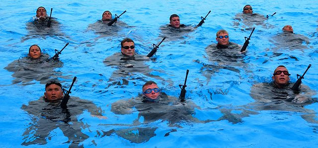 Floating vs Treading Water