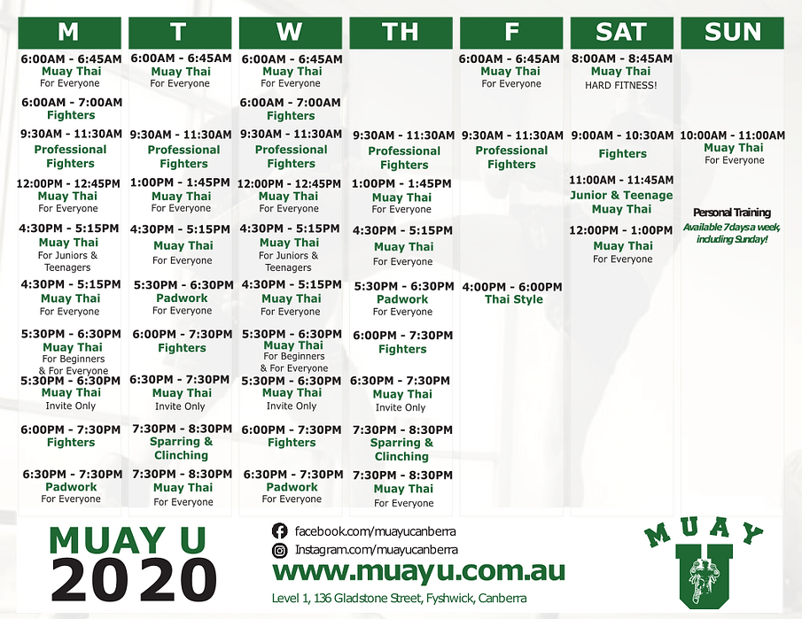 Muay U Timetable w sunday.png