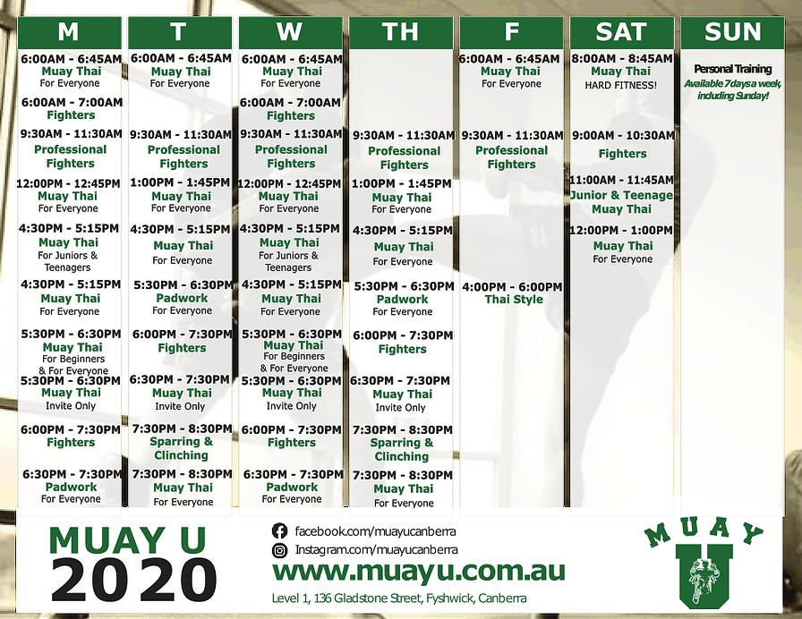 Muay U Timetable.png