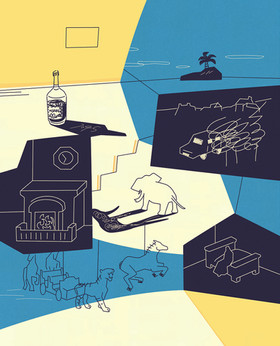『真っ白な嘘』装画 著者:フレドリック・ブラウン 出版:東京創元社 2020年12月発売