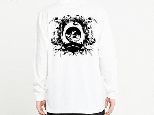 Space gateway ロングTシャツ / バックプリントver