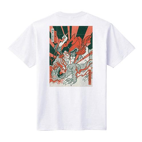 - BAKIBAKI- バックプリントTシャツ ユニセックス