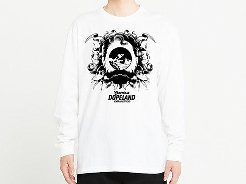 Space gateway ロングTシャツ / フロントプリントver