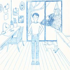chihiro-illustration-monochrome-roomjpg