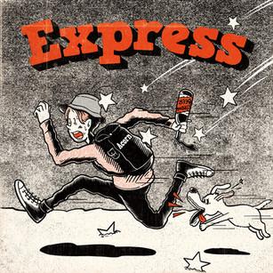 express ミュージックカバーイラスト