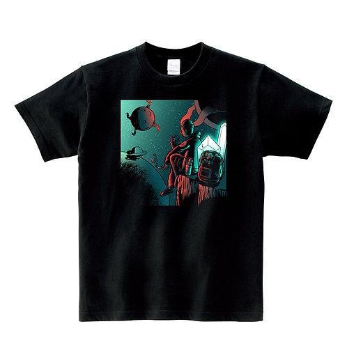 -SPASE LIFE HAMBURGER- Tシャツ / ユニセックス