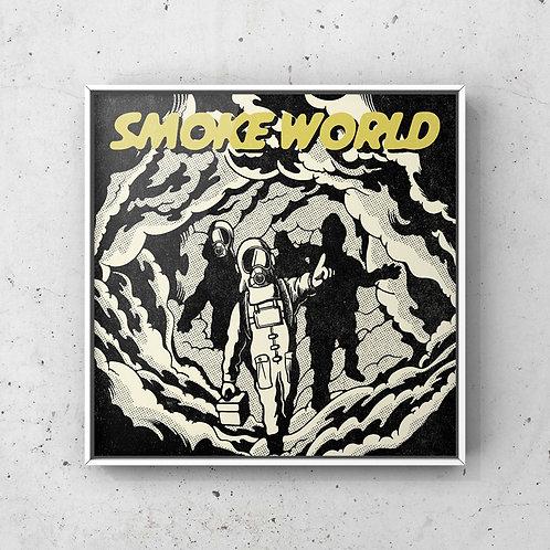 -SMOKE WORLD- フレームアート