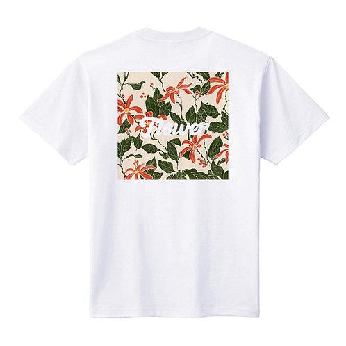 -Flower- バックプリントTシャツ / ユニセックス
