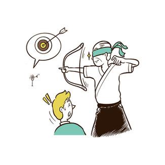 雑誌フォーブスジャパン イラストカット