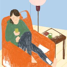 chihiro-illustration-sofa-relaxjpgjpeg