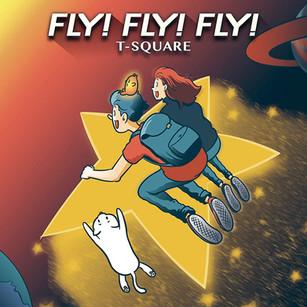 T-SQUARE FLY!FLY!FLY! CDジャケットイラスト
