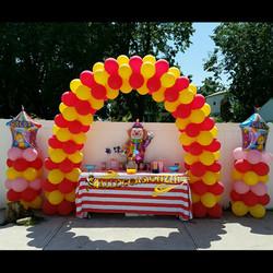 Circus Arch & Columns