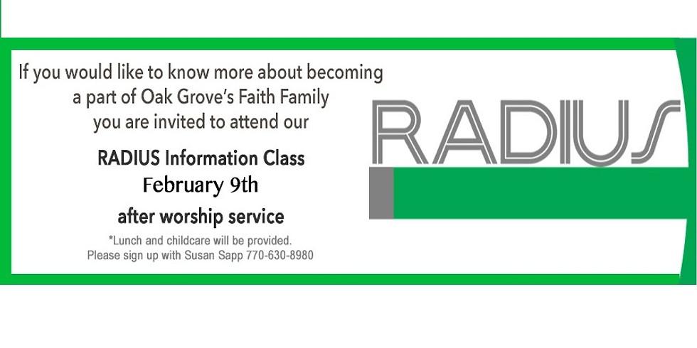 Radius Class