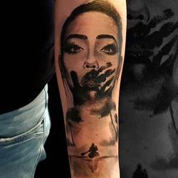 Tattoo réalisé à la Convention de corsai