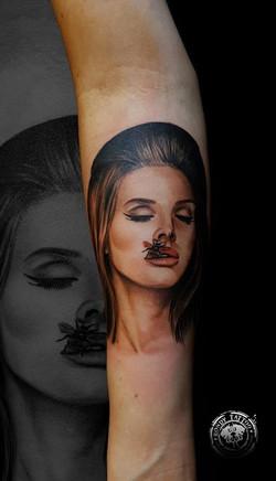 Lana del rey #tattoo #tatouagerennes #ta