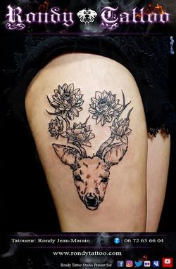 #deertattoo #tattoorennes #tatoueur #artistetatouer #tattooartist #tatoueurrennes #tatouage #tatouag
