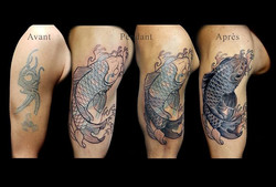 recouvrir #fishtattoo #koitattoo #tattoorennes #tatoueur #artistetatouer #tattooartist #tatoueurrenn