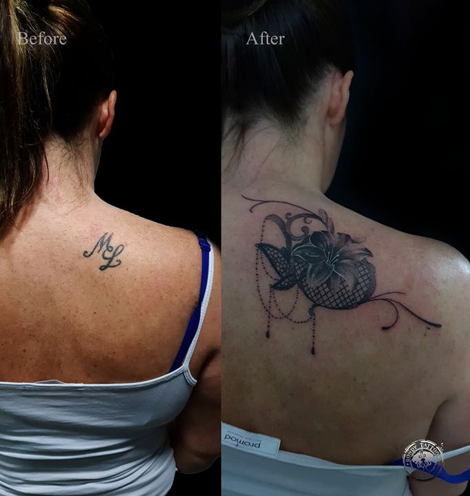 cover up #tattoo #Worldfamousink #spektr