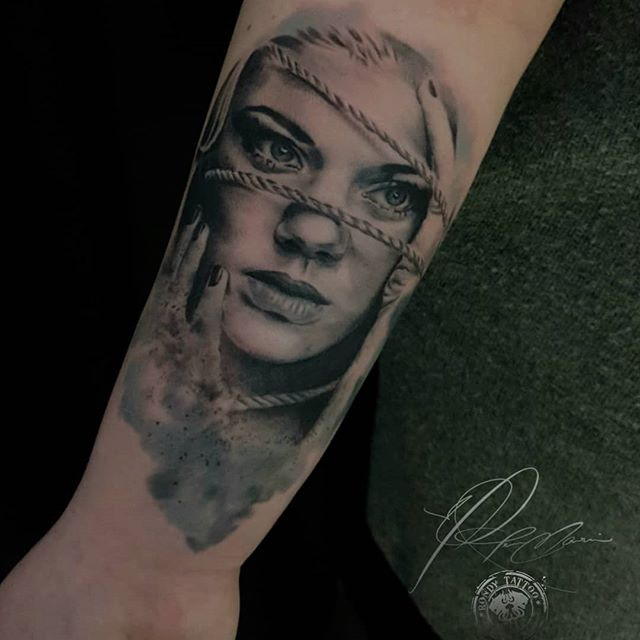 #portrait #realismtattoo #artist #tatoua