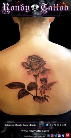 Convention Internationale de Tatouage Bretagne _ Corsair Tattoo Ink # rosetattoo #fee #tatouage #réa