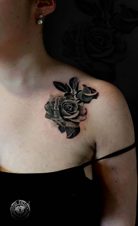 #rose  #tattoo #bishoprotary #worldfamousink #tatouagerennes #tatoueur #photo #tattooartist #tatoueu
