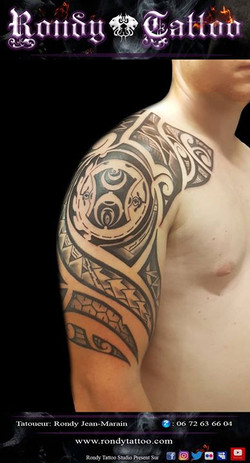 #maori #tribal #tattoo #tatouagerennes #tatoueur #artistetatouer #tattooartist #tatoueurrennes #ink