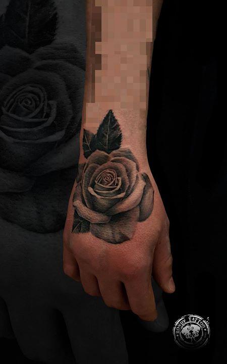 #rose #tattoo #Worldfamousink #spektraxi