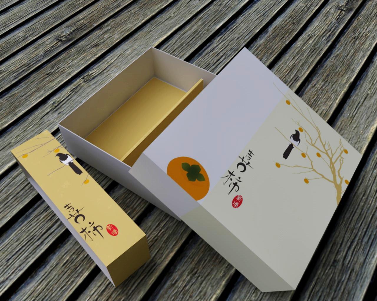 新埔農會 / 柿餅包裝 / 喜柿