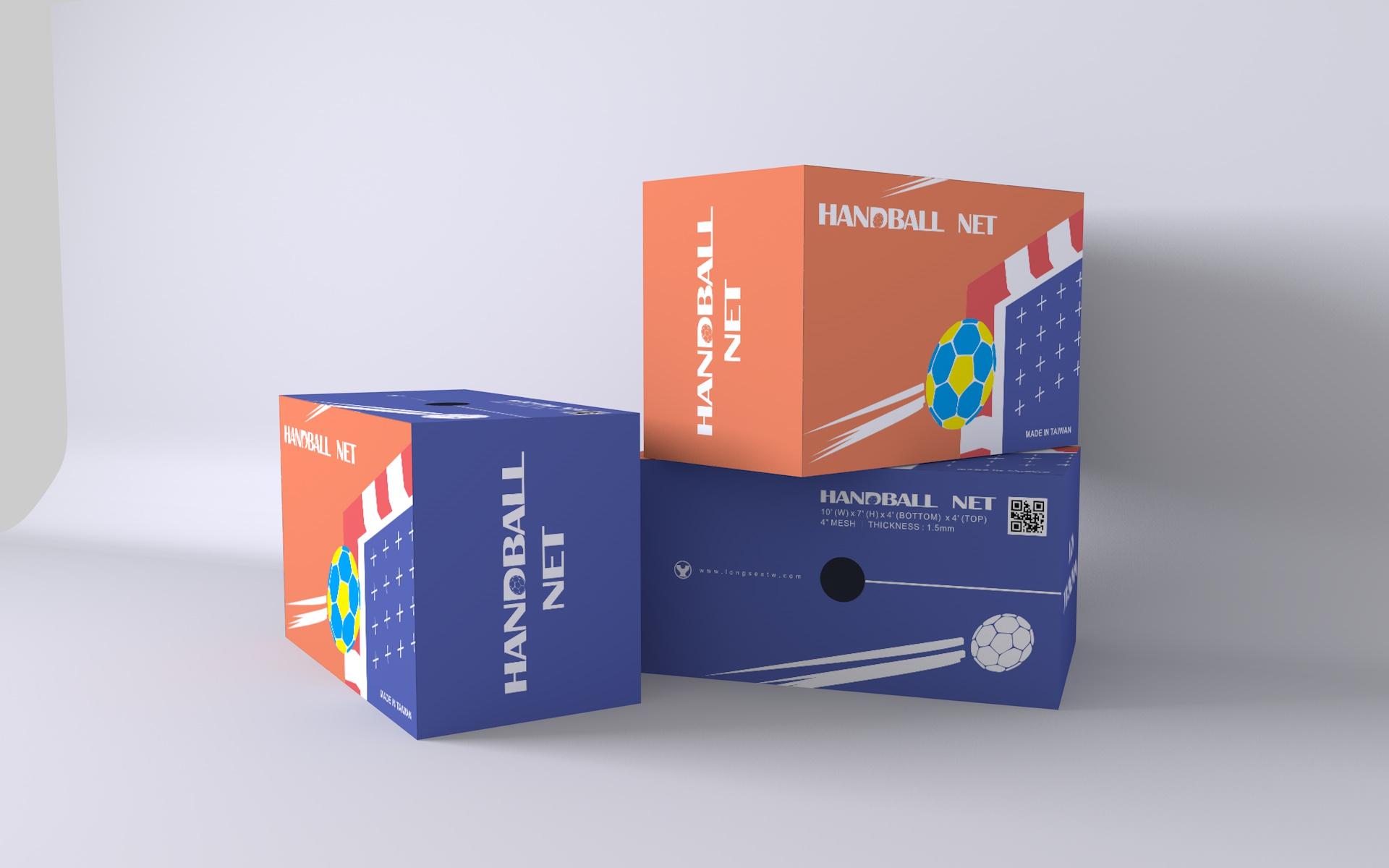 龍西企業 / 手球網包裝
