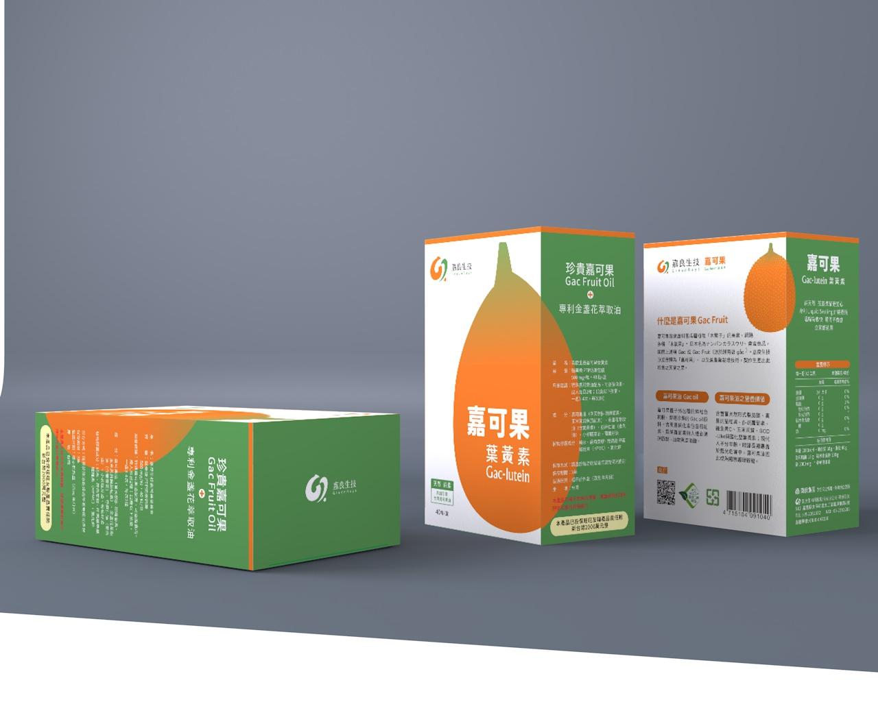 嘉良生技 / 嘉可果葉黃素包裝