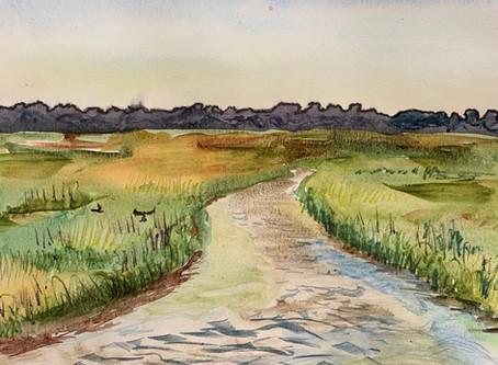 Marsh Painting