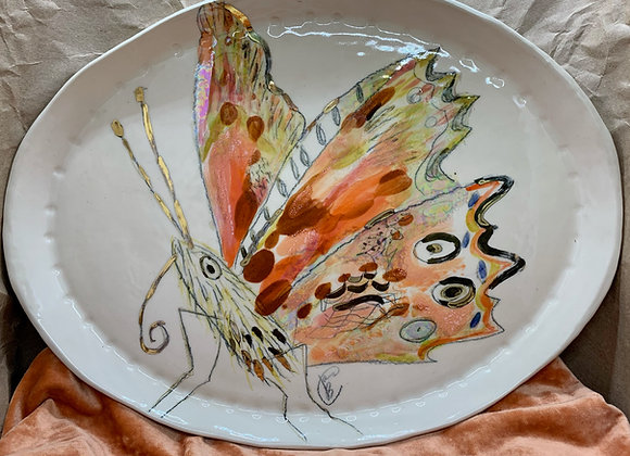 Butterfly Platter: Winged