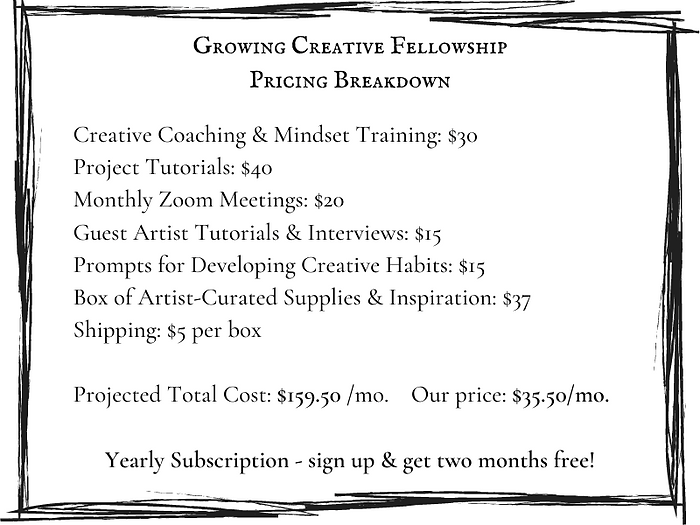 What the Growing Creative Fellowship inc