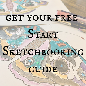 get your free Start Sketchbooking guide.