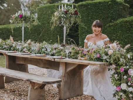 Wedding flowers for a small Wedding