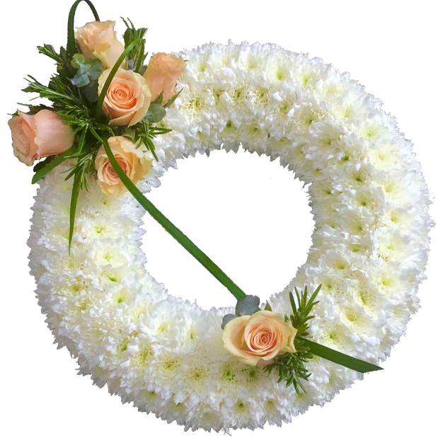 White Based Wreath