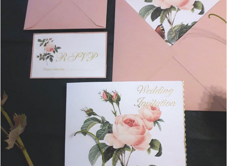 DIY Wedding Invitation Folder with free .pptx files