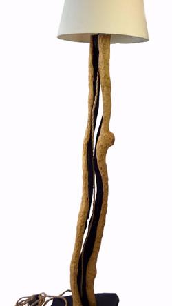 oak lamp