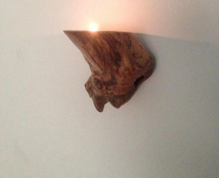 Applewood wall lamp