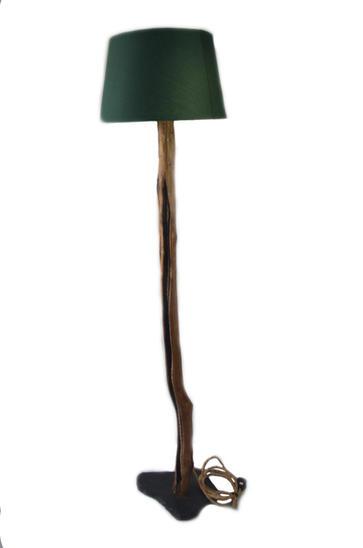 Chestnut standing lamp