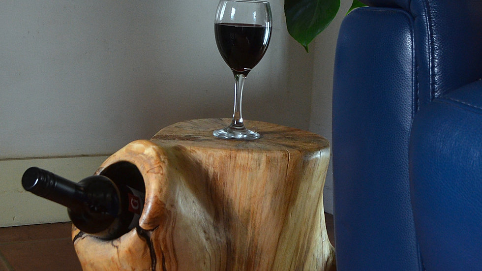 Willow Stump Side Table