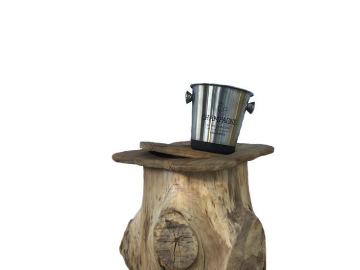 Willow wood storage stump
