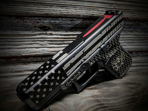 Red Axe Stars and Stripes Slide