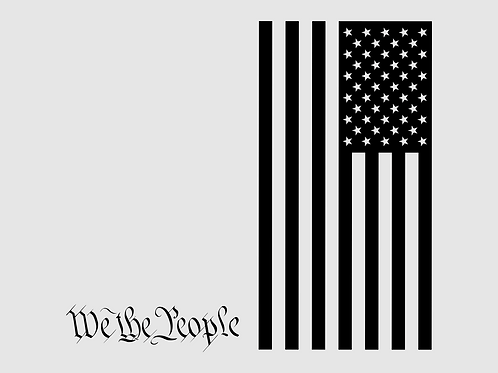 We The People and Flag