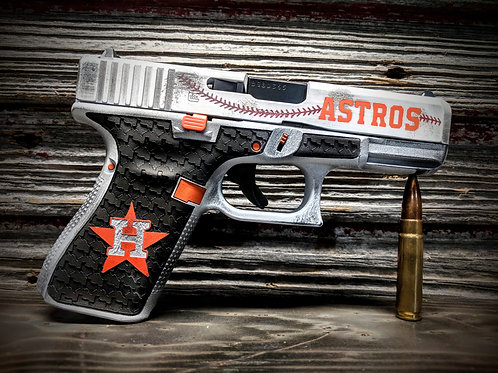 Distressed Sports Themed Pistol