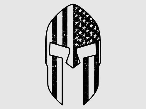 Spartan Flag Mask